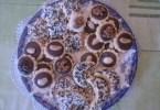 حلويات صابلي مزوقة بالشكلاط و اللوز