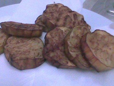بادنجان مقلي