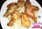 أجنحة دجاج بالخردل