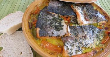 طريقة تحضير طاجين سمك السلمون بالصور