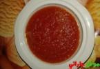 صلصة الطماطم في البيت