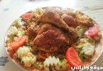 أفخاد الدجاج منسمين بالتوابل