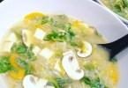 حساء لذيذ بالخضر