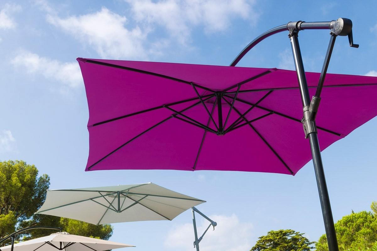 Parasol dport rond Hawa  300 m Hespride  Jardideco