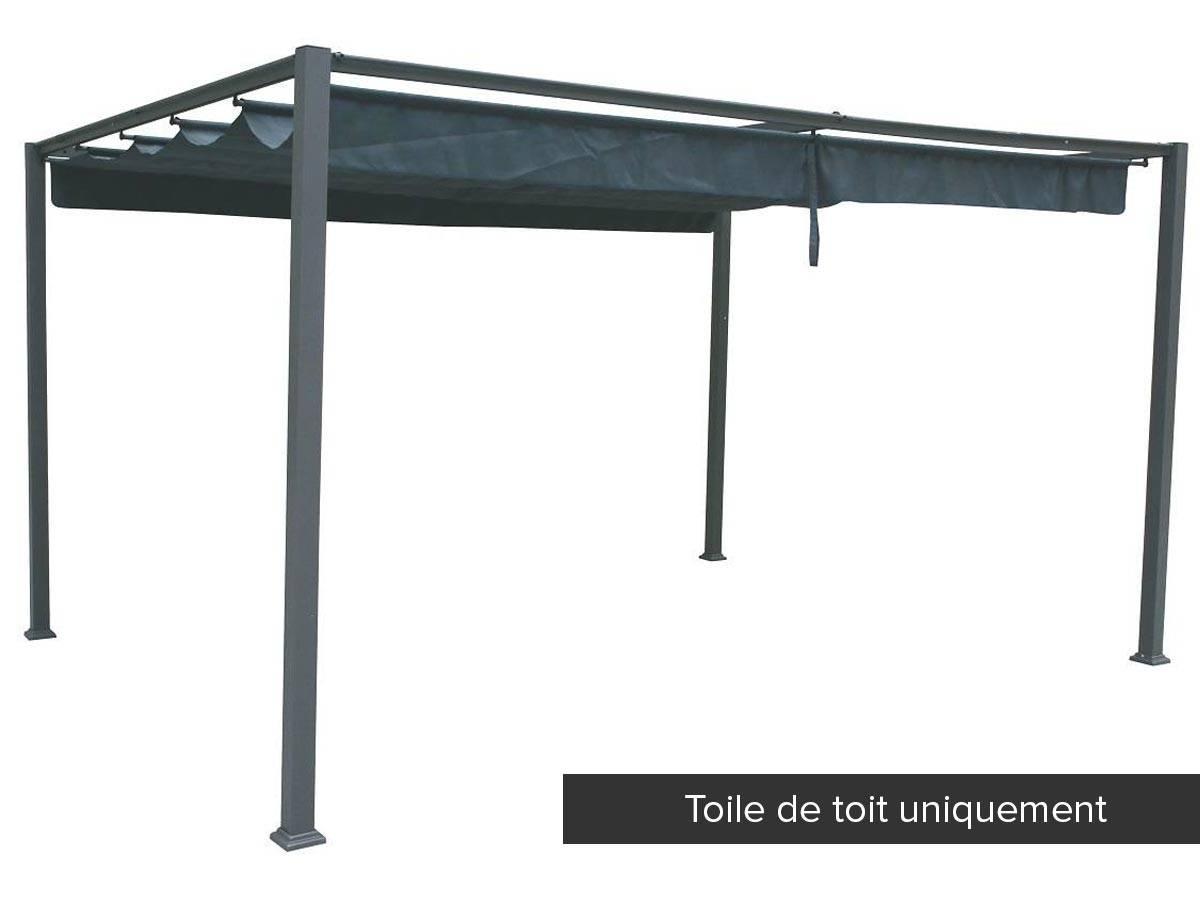 toile de toit pour la tonnelle palmeira