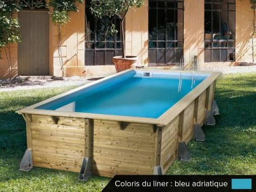 piscine bois hors sol ubbink sunbay