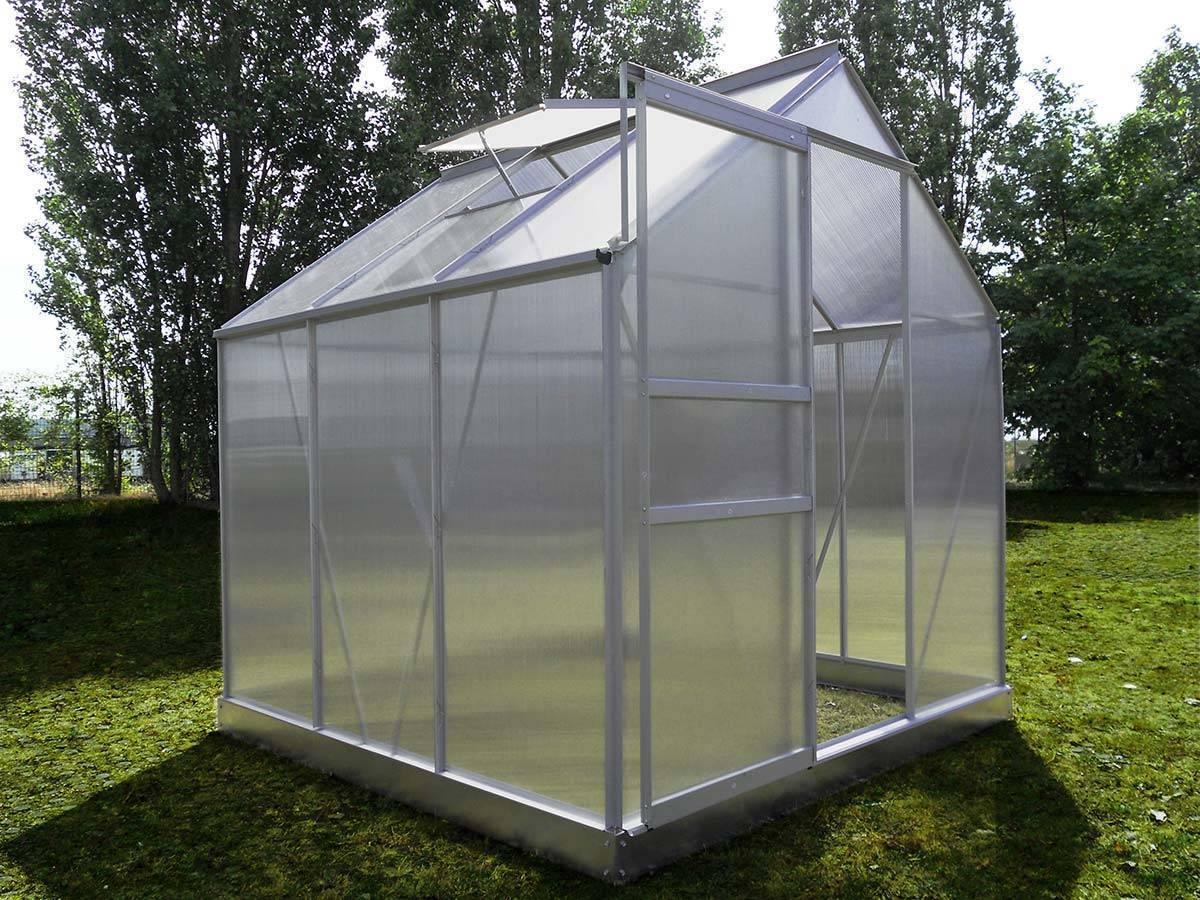Serre Polycarbonate Chalet Amp Jardin Base Incluse