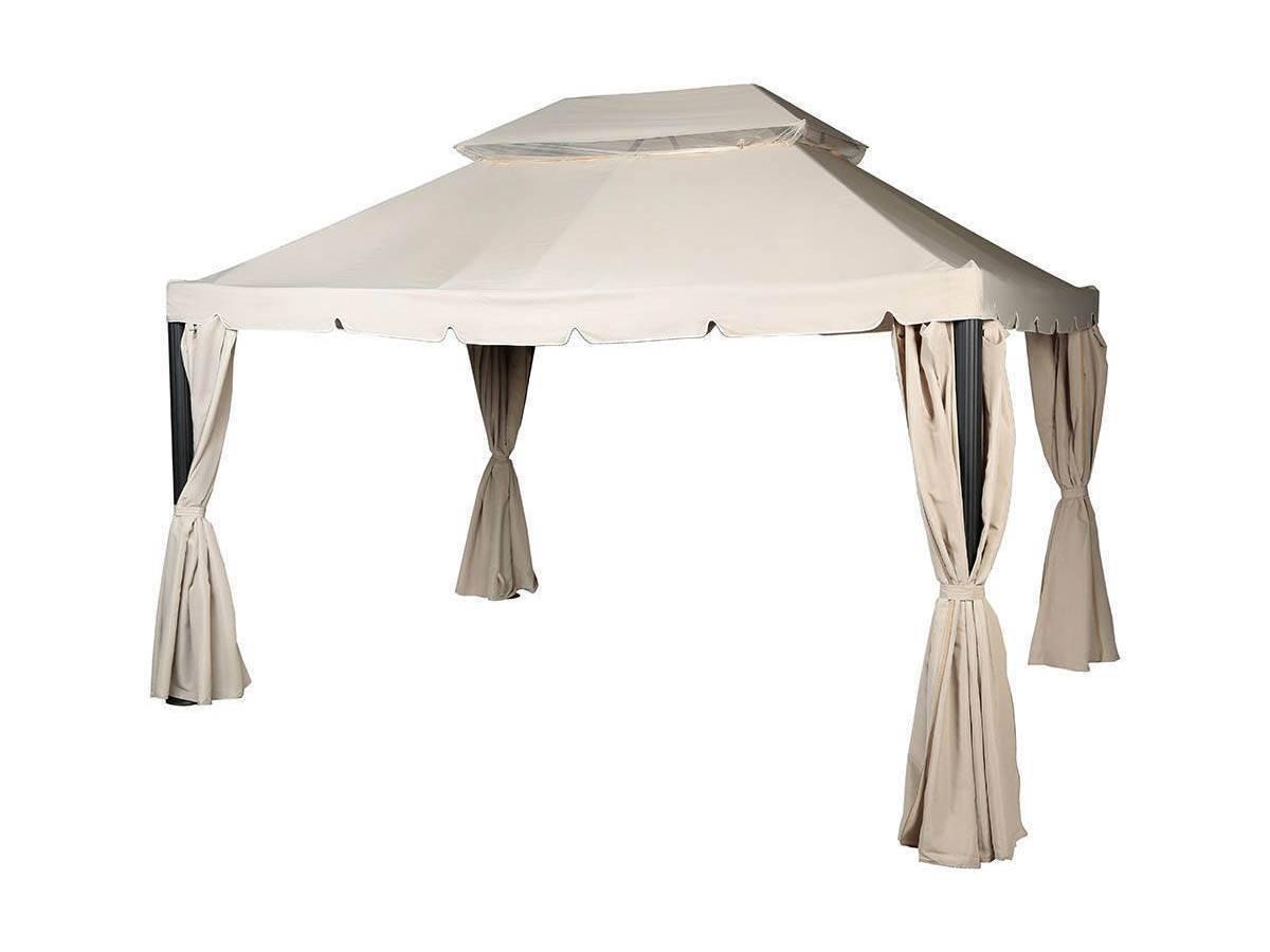 toile de toit pour la tonnelle napoli 3 x 4 m
