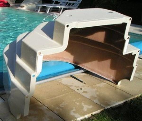 Escalier piscine Athena 15m hauteur 120cm