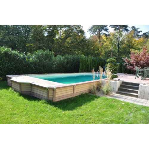 Zodiac Azteck rectangle semienterre 495x244m