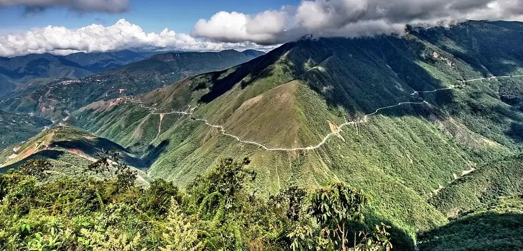 camino yungas