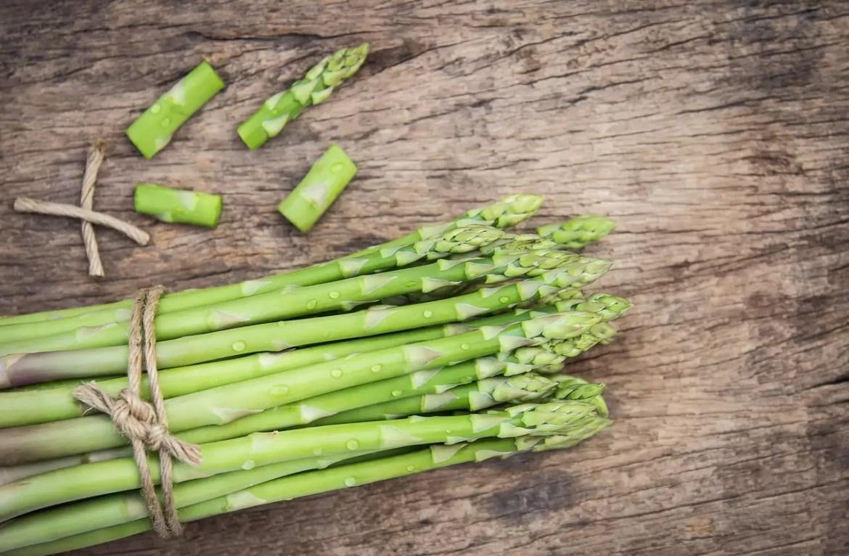 aspargos como alimentos prebióticos