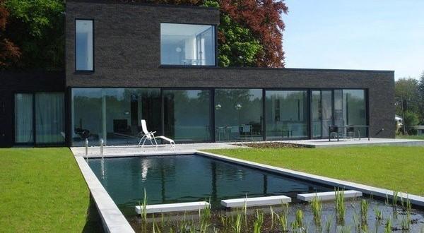 Une piscine naturelle avec Geralds  Jardin et Decoration Amenagement et Entretien Belgique