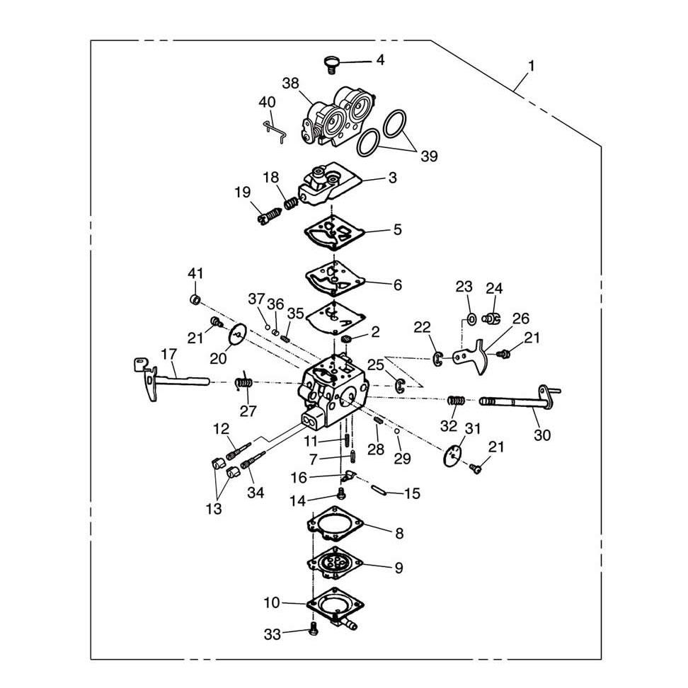 Carburateur, débroussailleuses ZENOAH BCZ4505DW