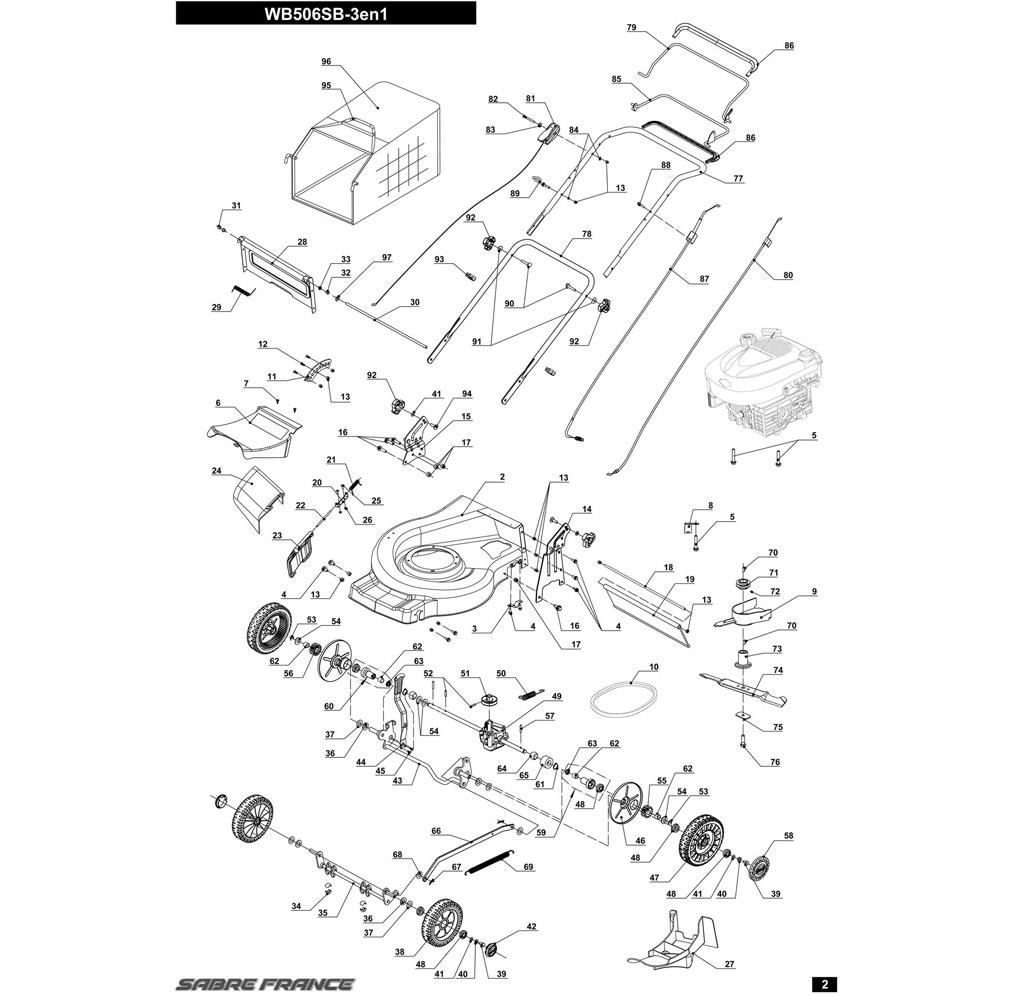Pieces Detachees Tondeuse Mc Culloch Rayon Braquage