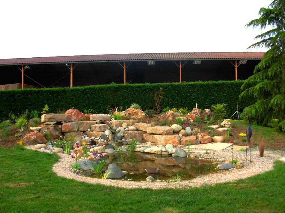 creation de bassin a balma jardin