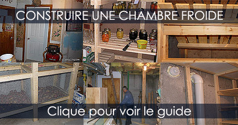 Chambre Froide  tapes de Construction dune Chambre Froide
