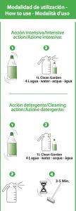 como limpiar cesped