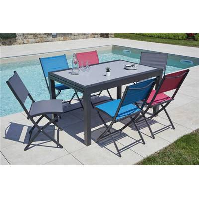 table extensible en aluminium fancy