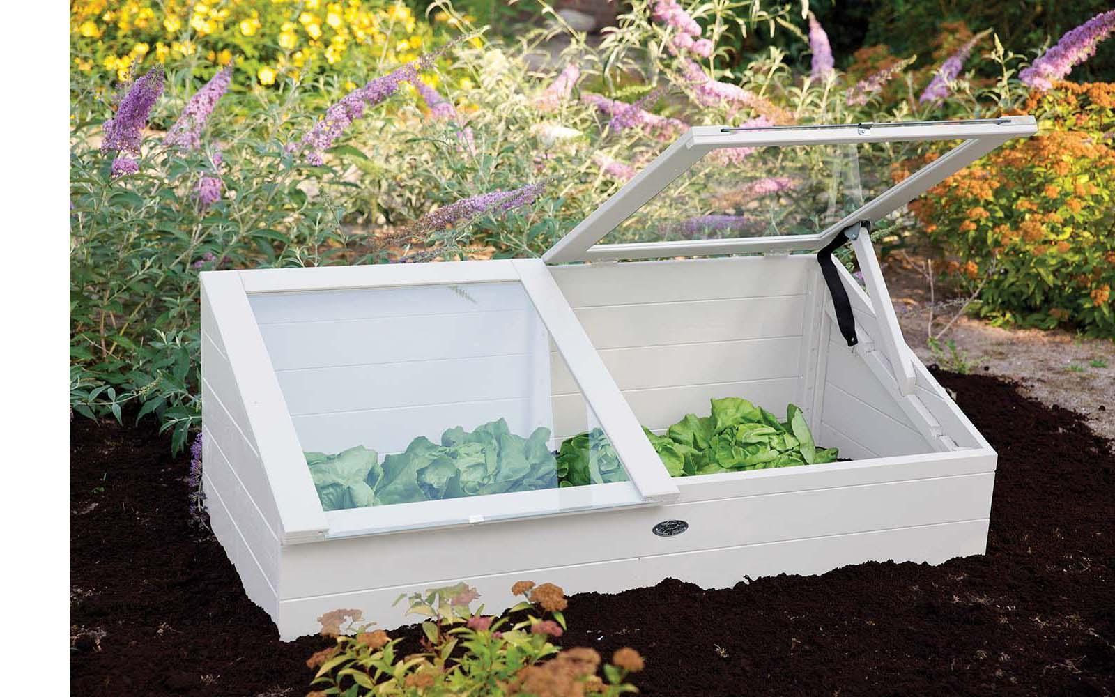 fabriquer une serre de jardin comment