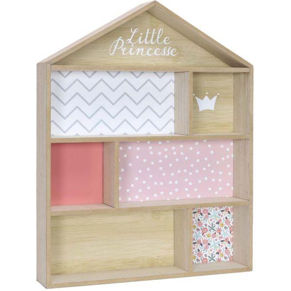 etagere maison en bois little pincesse