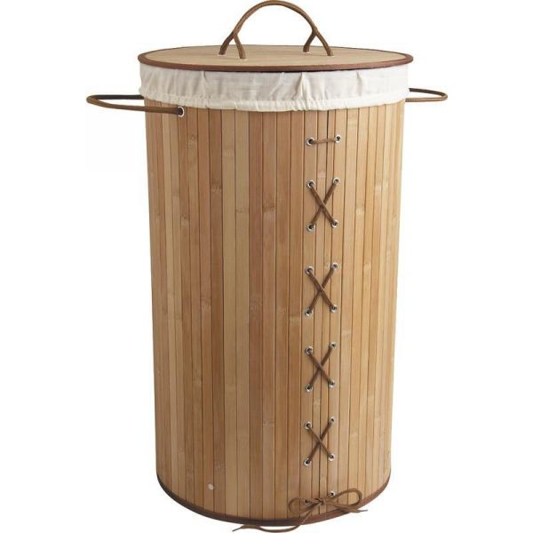Panier A Linge Corset En Bambou
