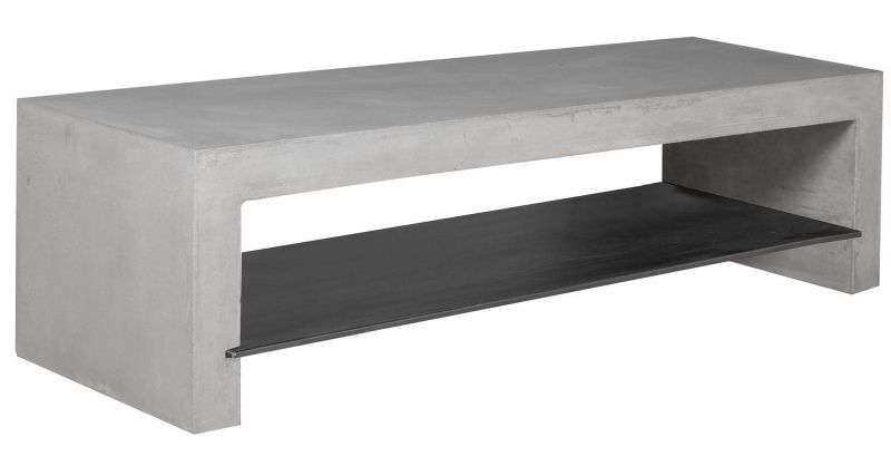 meuble tv beton 135 cm hugo