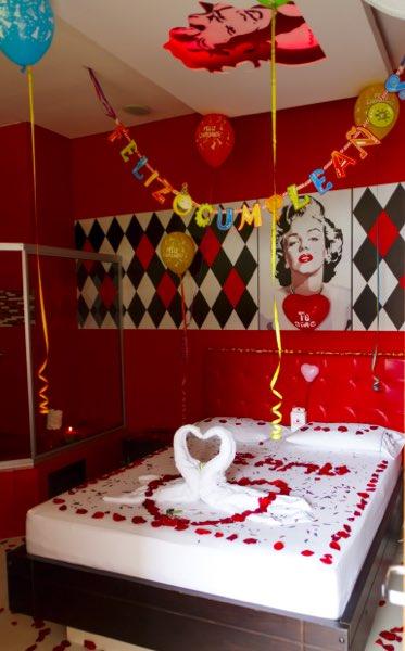 Decoraciones motel Jardn del amor  Motel en Medellin