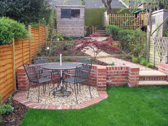 Leafy Retreat A Long Narrow Partially Sloping Garden With A