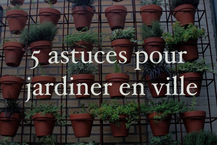5 astuces pour jardiner en ville