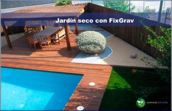 Jardines de bajo mantenimiento con fixgrav jardiner a for Jardines con poco mantenimiento