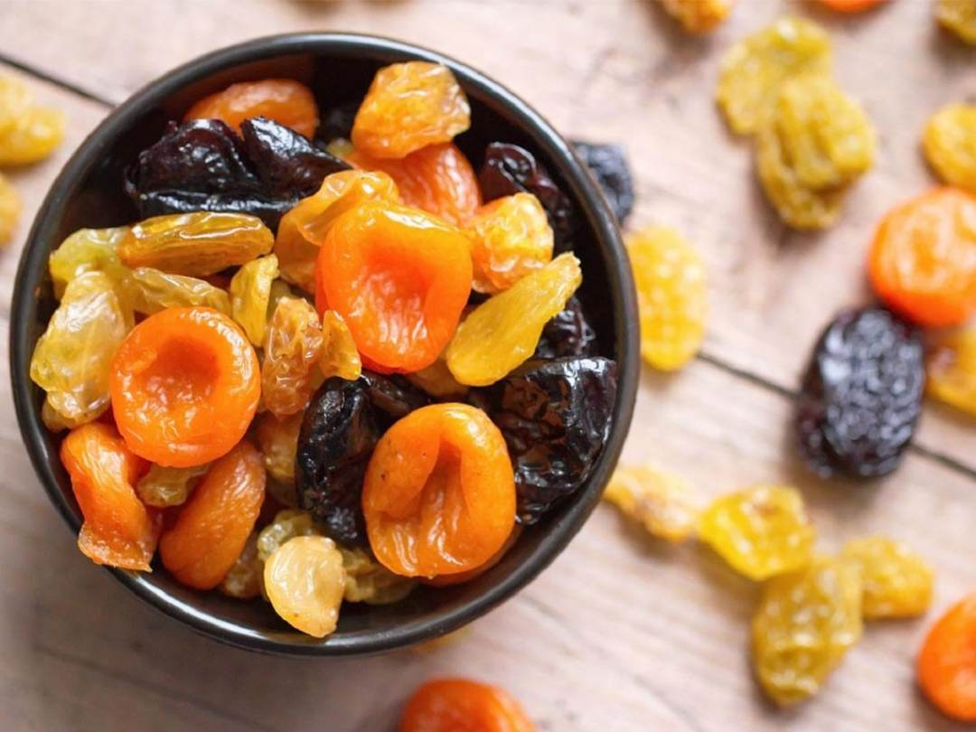 homemade dehydrated fruit