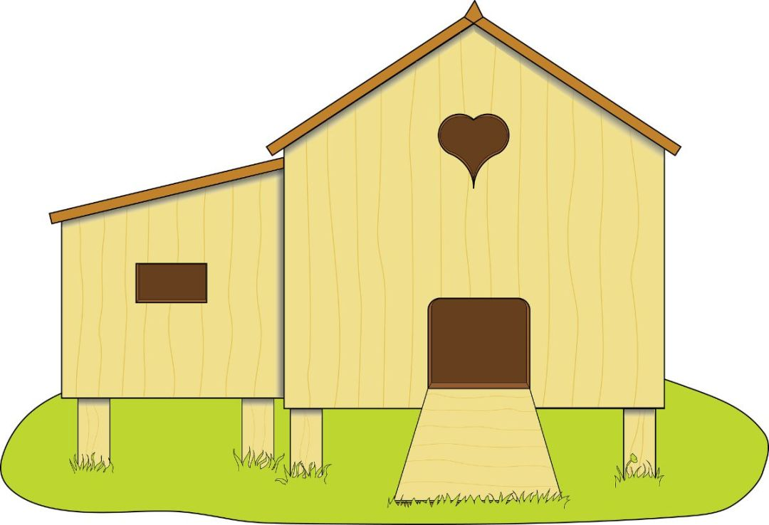 How to make a homemade chicken coop step by step