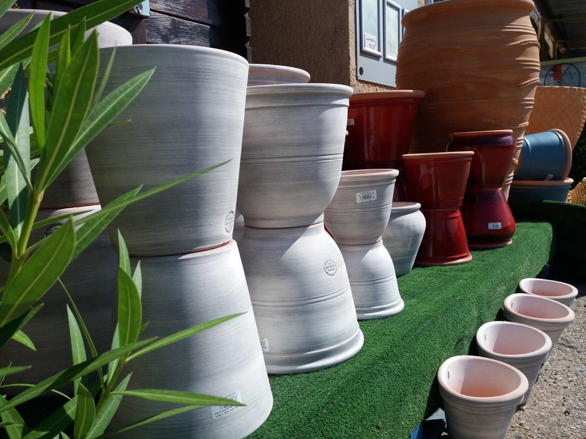 Pot Plastique Grande Taille poterie vaison la romaine vaucluse