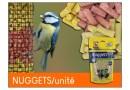 Nuggets : graisses pour oiseaux du ciel