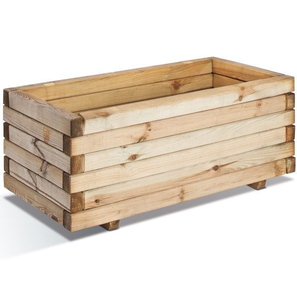 jardinieres bois rectangulaire