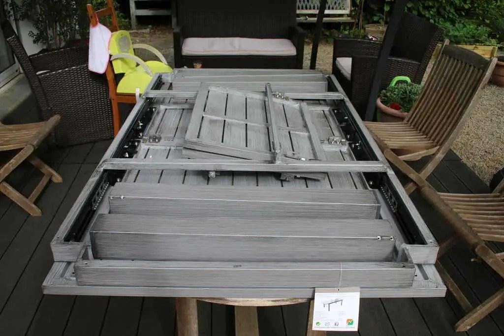 table de jardin alu naterial antibes