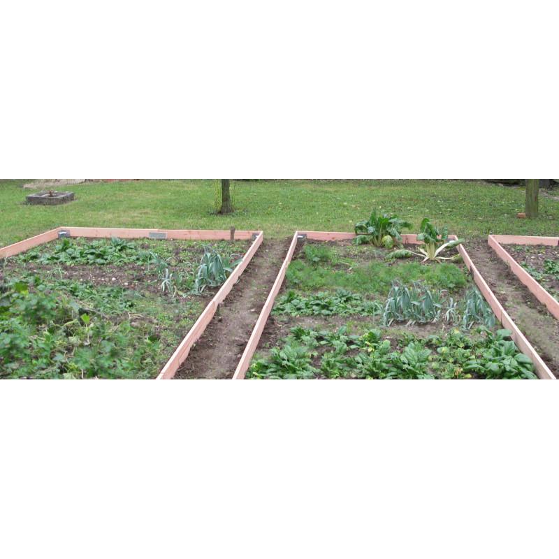 Votre bordure de jardin en bois 130 m chez Jardin et Saisons
