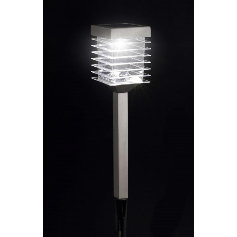 Craquez sur la lampe solaire de jardin  LED en inox