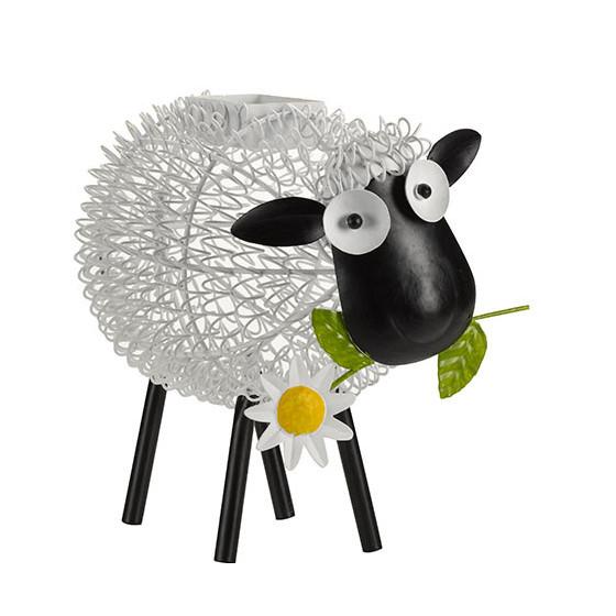 Le Mouton dcoratif solaire en mtal de Jardin et Saisons
