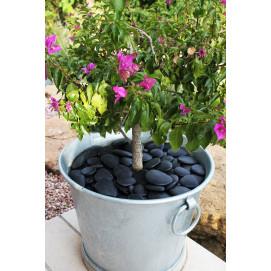 vasque a fleurs 39l gris anthracite