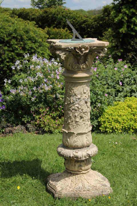 Antique Blanchard Foliate Sundial