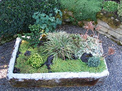 les jardins miniatures rustiques - Creer Un Jardin Japonais Miniature