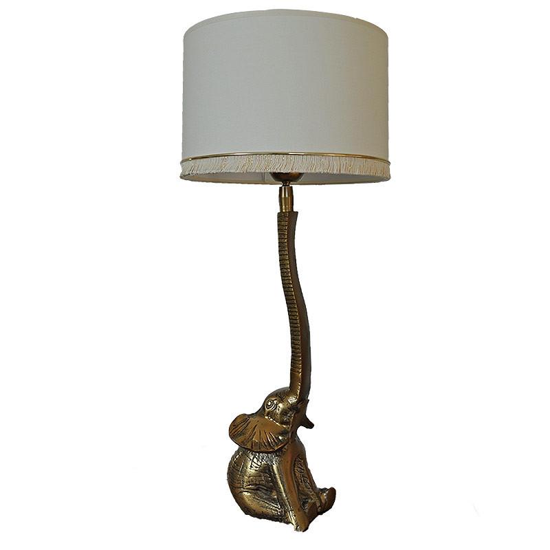 lampe pied elephant 58x12x25cm