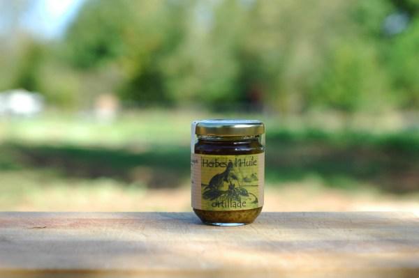 herbe à l'huile bio ortillade 80g
