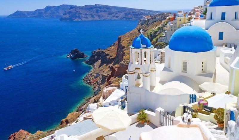 Grèce en famille santorin