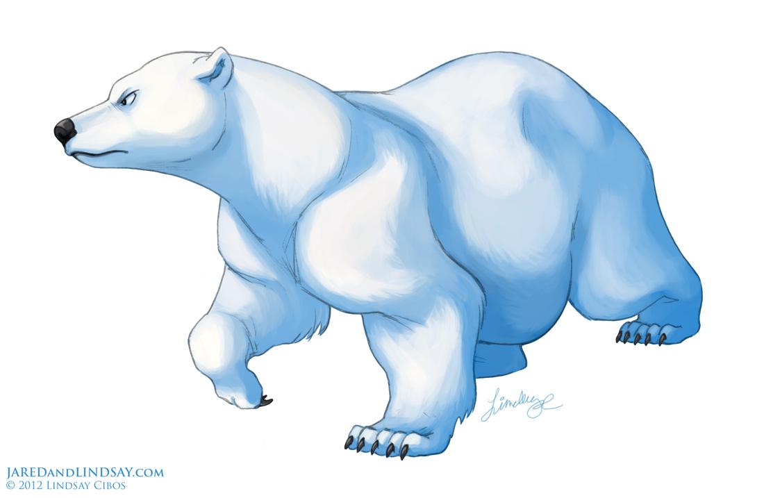 Bears Are Cartoon Characters