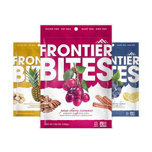 Frontier Bites Granola Packaging Design