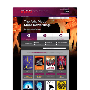 Audience Rewards Site Design