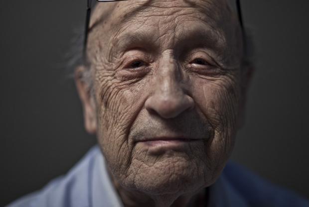 Holocaust Survivor Eyes 2